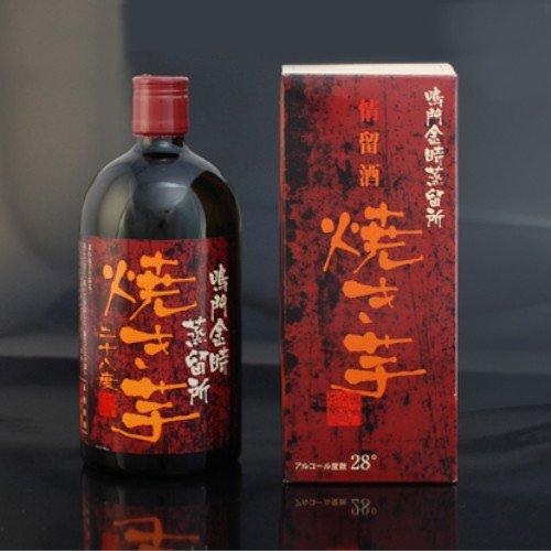 【720ml】情留酒 鳴門金時 焼き芋【鳴門金時蒸留所】