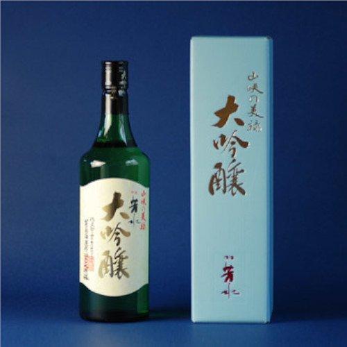 芳水 大吟醸(720ml)【芳水酒造】四国山脈の伏流水が育てた清酒、山々に浸透して磨かれた水がキレを生みます!