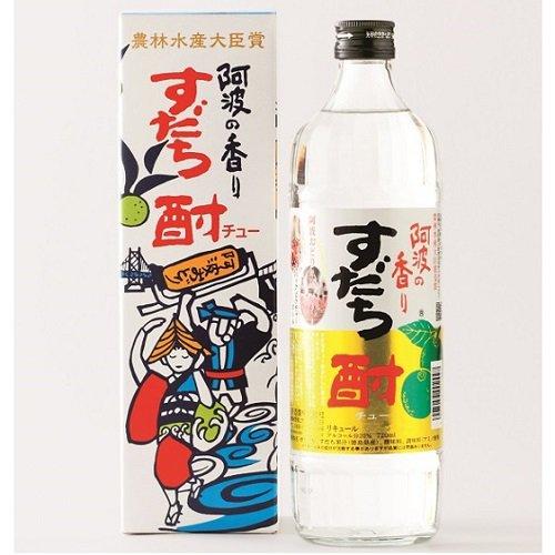 阿波の香り すだち酎 (720ml)【日新酒類】