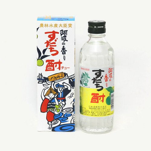 阿波の香り すだち酎 (300ml)【日新酒類】