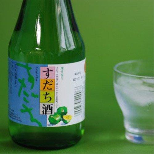 すだち酒  (300ml) 【本家松浦酒造場】