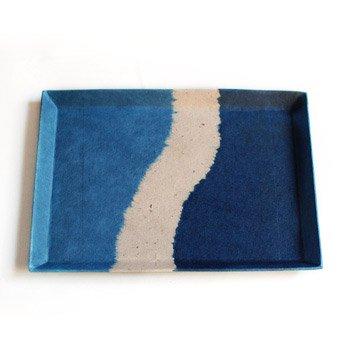阿波和紙 ペン皿 【サイズ(大)】【阿波和紙】 徳島が誇る伝統工芸のコラボレーションから生まれました 【メール便対応】