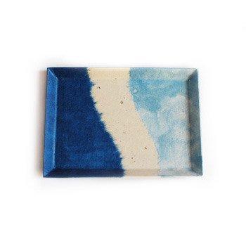 阿波和紙 ペン皿 【サイズ(中)】【阿波和紙】 徳島が誇る伝統工芸のコラボレーションから生まれました 【メール便対応】