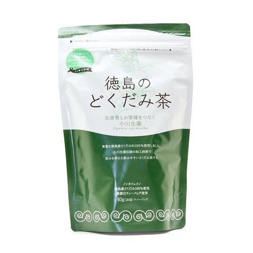 どくだみ茶:【2g×20袋】【国産】徳島県産どくだみ100%使用、徳島のどくだみ茶。