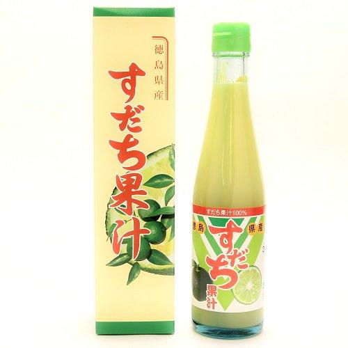 すだち果汁(大瓶300ml)【JA徳島市】