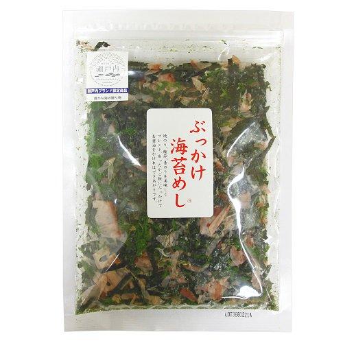 ぶっかけ海苔めし【徳島県漁連】あったかご飯にぶっかけて、醤油をかけて召し上がれ〜。