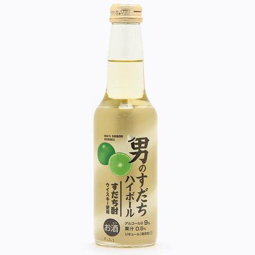 男のすだちハイボール【250ml】【日新酒類】地ウイスキーを使ったスダチハイボール!