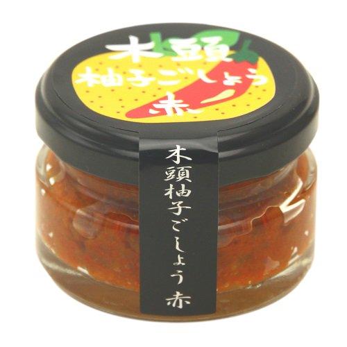 木頭柚子ごしょう 赤【45g】【きとうむら】