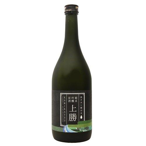 湧き水と棚田米 純米吟醸原酒 上勝【高鉾建設】