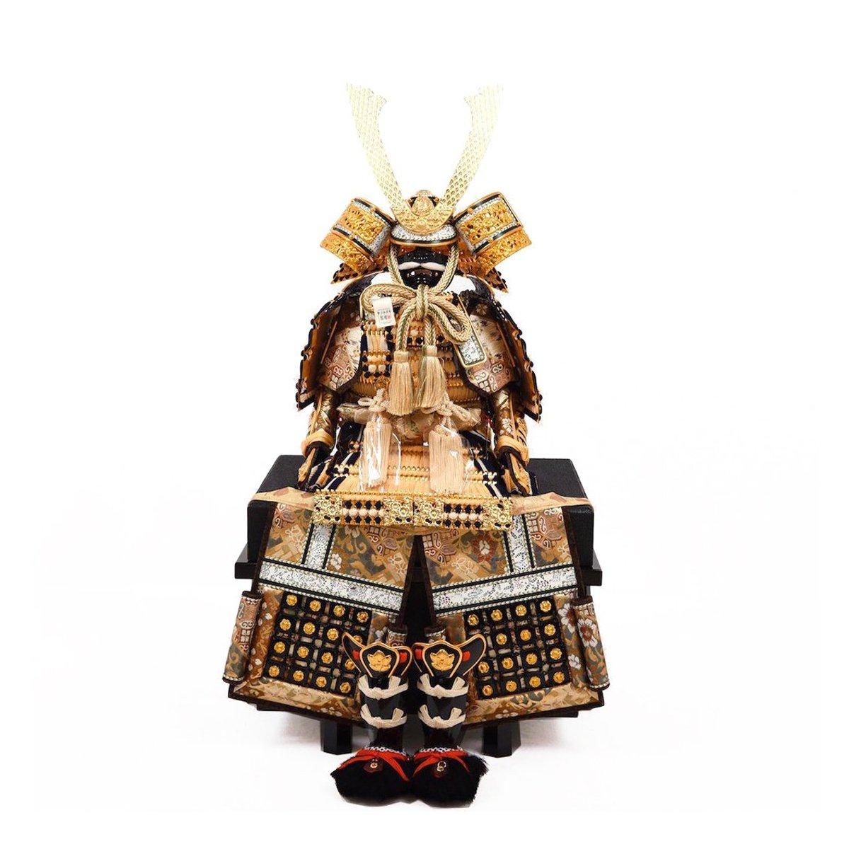 五月人形 鎧飾り 8号さんさん 白糸威大鎧 鎧単品