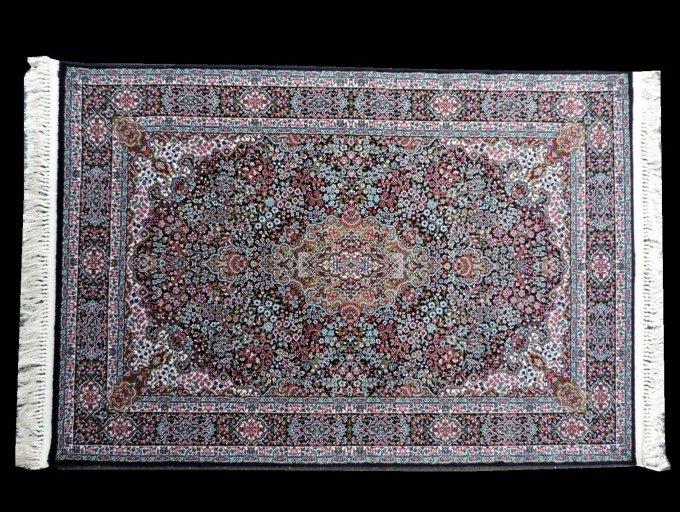 kr-801-g ペルシャ絨毯(カーペット/ラグ)玄関マット 70万ノット:機械織り ペルシャ絨毯の本場 イラン/ケルマン産デザ…