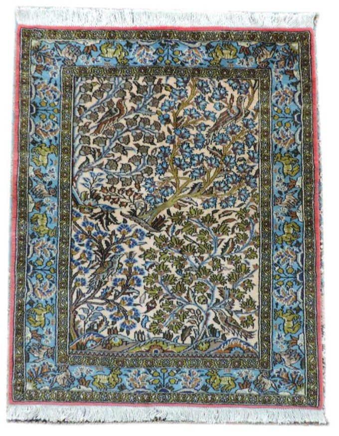 w-106 ペルシャ絨毯・カーペット ウール100% 手織り ペルシャ絨毯の本場(イラン タブリーズ産) 玄関マットサ…