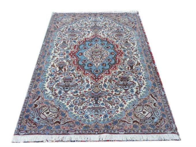 n-306 ペルシャ絨毯・カーペット ウール100% 手織り ペルシャ絨毯の本場(イラン カシュマル産) 大型サイズ【アンティーク/ビンテー…