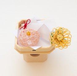 お供え飾り 長月/重陽の節句・菊の花と菊の和菓子