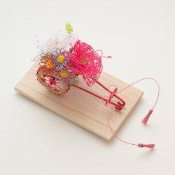 リングピロー 花車(花尽し)