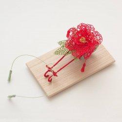 リングピロー 花車(牡丹)