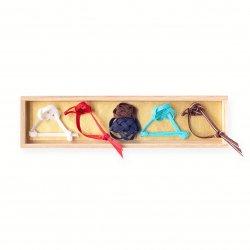 初夢の箸置(5個セット/桐箱入り)