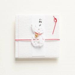 ぽち袋 まねき猫(白)