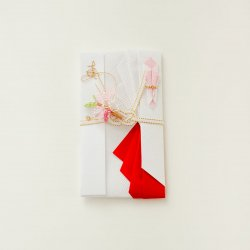 【結婚祝】寿ご祝儀袋 桜(赤)