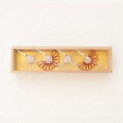祝い鶴の箸置(4個セット/桐箱入り)