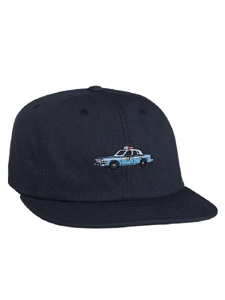 【HUF X CHOCOLATE NY COP CAR 6 PANEL】