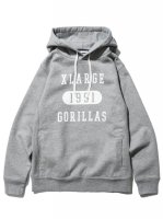 【GORILLAS PULLOVER HOODED SWEAT】