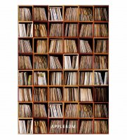 【RECORD SHELF A1 POSTER】