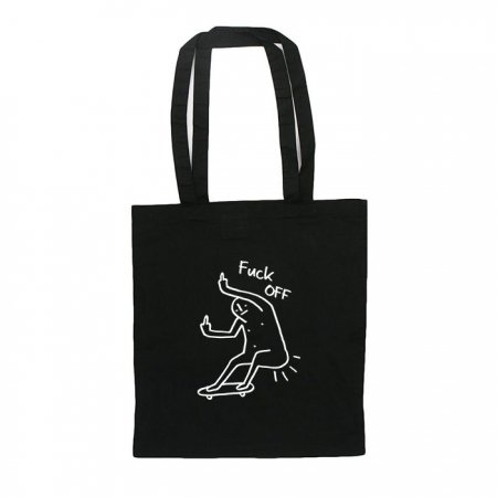 【LEON FUCK OFF TOTE BAG】