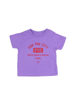 【KIDS THE GOODS TEE / LAVENDER】