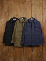 【FISHTAIL FIELD COAT】