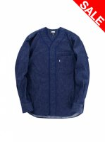 【DENIM BASEBALL SHIRT】