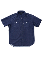 【DENIM B.D SHIRT】