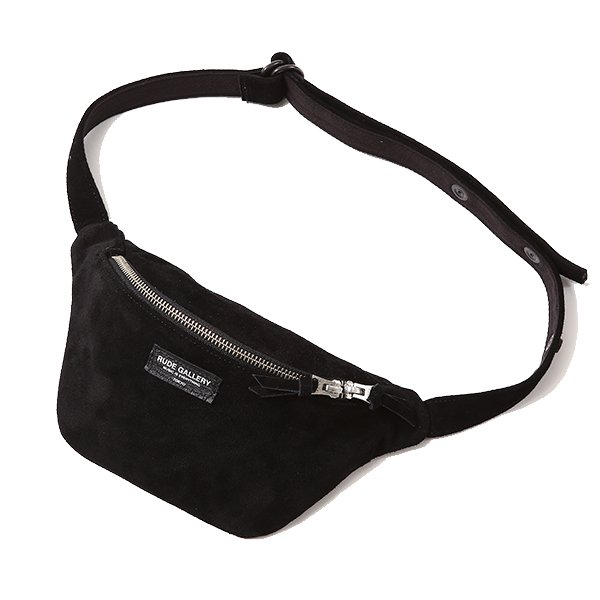 RUDEGALLERY WAIST BAG LEATHER  ルード...