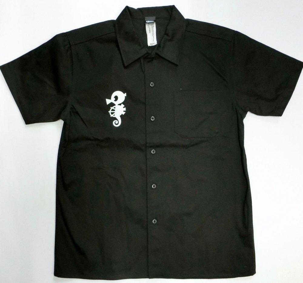 タツノコレジェンドヒーローズ(TATSUNOKO LEGENDS)ブラックワークシャツ[廃盤]