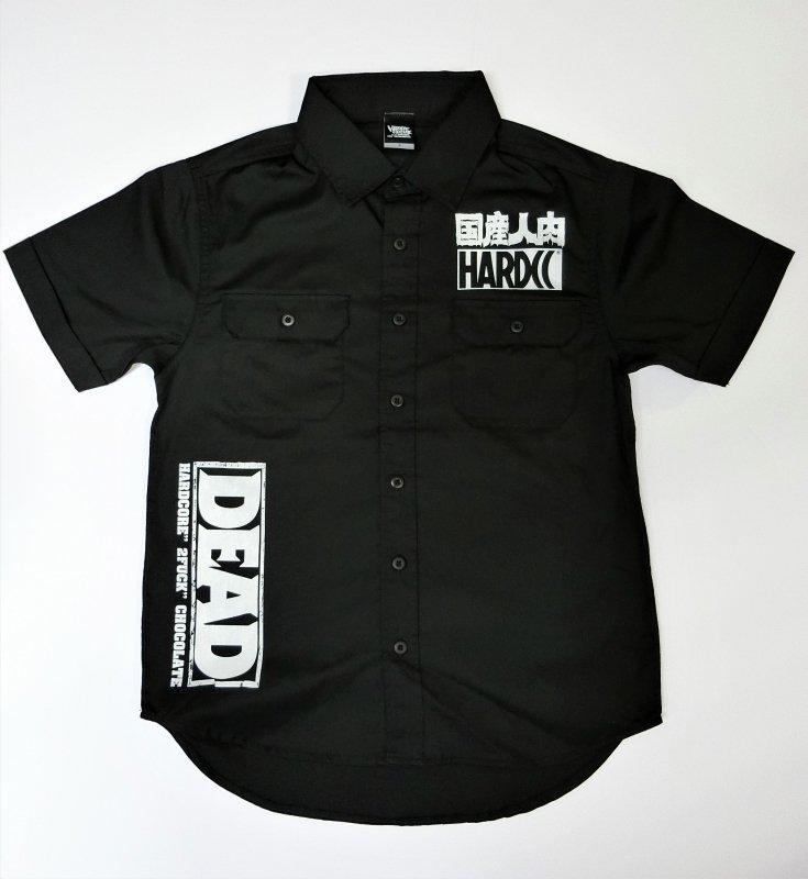 DEAD東京精肉部ワークシャツ(国産人肉ブラック)[廃盤]