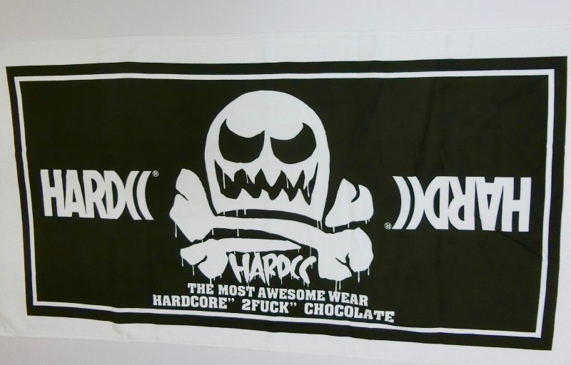 HARDCC バスタオル(汗だくブラック) [廃盤]