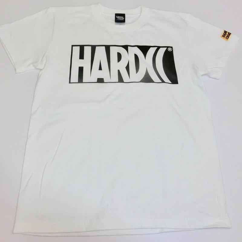 HARDCC ベーシックロゴTシャツ(ホワイト)