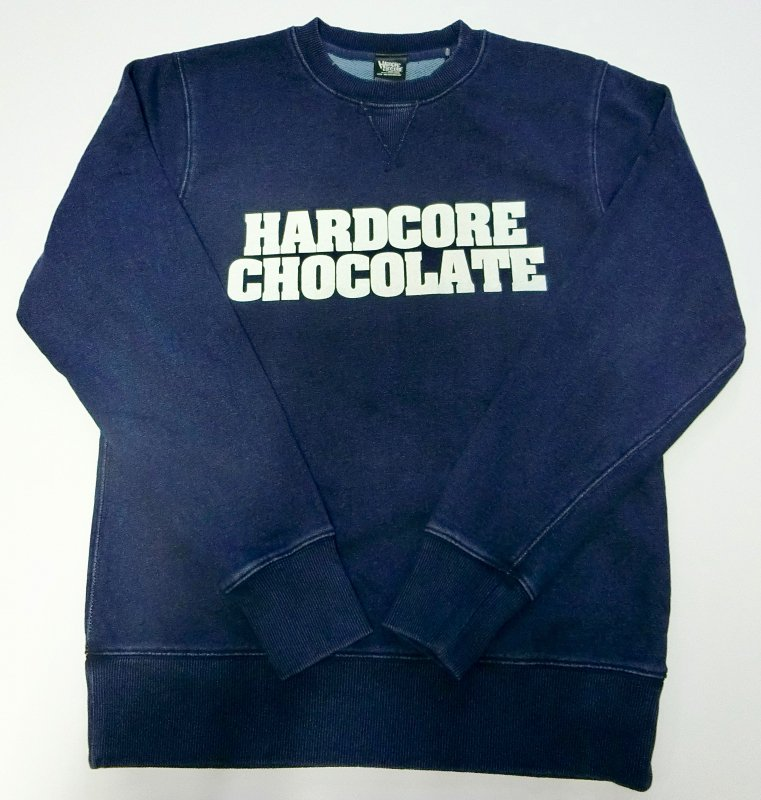 HARDCORE CHOCOLATE スペシャルロゴミックスデニムスウェット
