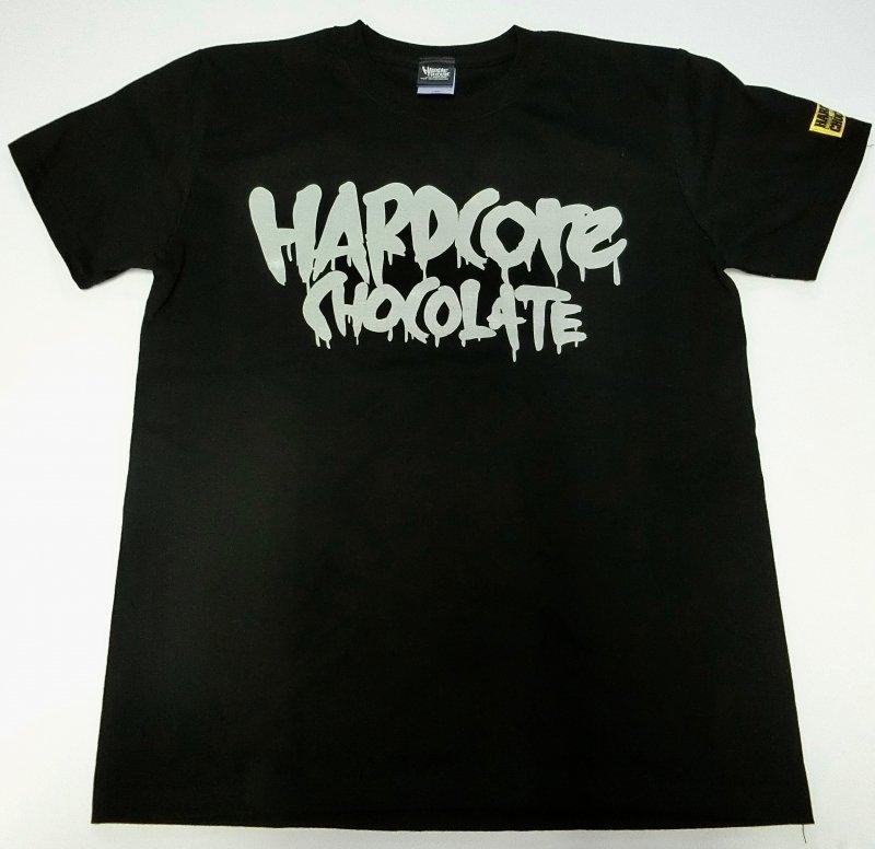 フルメルティッドハードコアチョコレート ベーシックロゴTシャツ(セメントグレー)