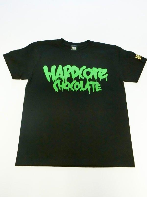 フルメルティッドハードコアチョコレート ベーシックロゴTシャツ(ゾンビライトグリーン)