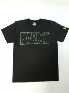HARDCC ベーシックロゴTシャツ(スケスケクリアロゴ)