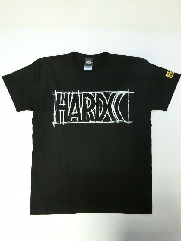 HARDCC ベーシックロゴTシャツ(鉛筆ラフスケッチ)
