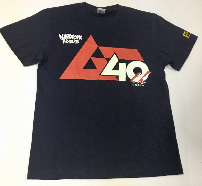 月刊ムー40周年記念Tシャツ(1980年3月号NO.3ネイビー)