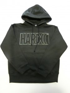 HARDCC クリアロゴ プルオーバーパーカ[廃盤]