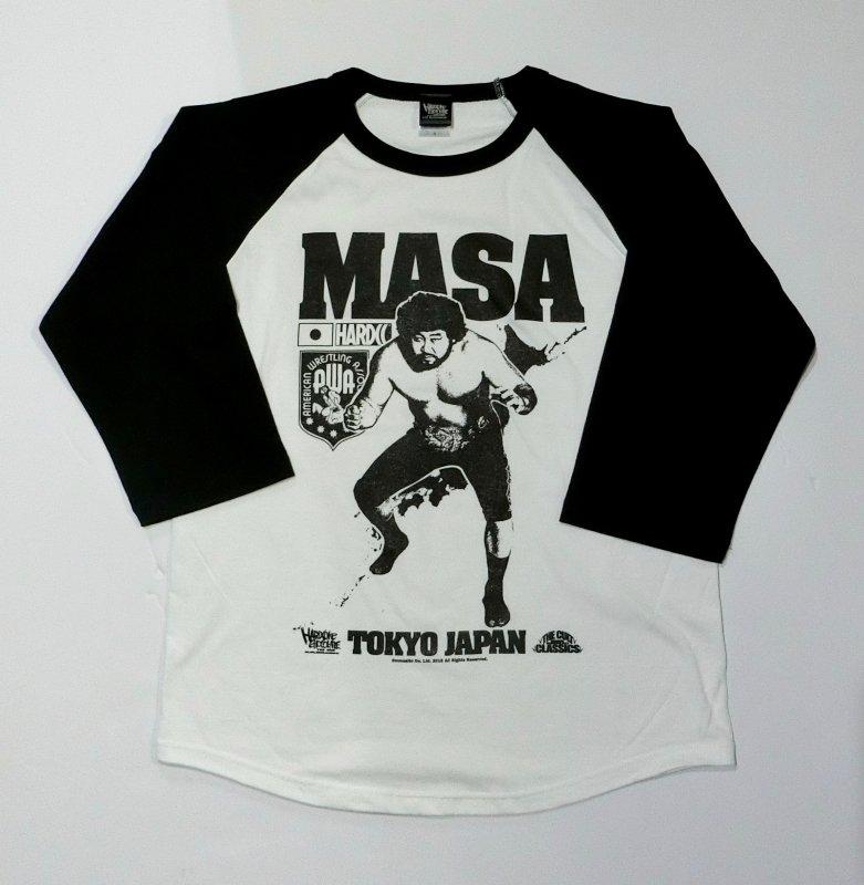 MASA (マサ斎藤)七分袖ラグラン