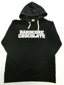 HARDCORE CHOCOLATE スペシャルロゴミックスライトプルパーカ
