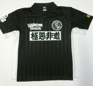 コアチョコサッカーシャツ[2019SS](極悪非道ブラック)