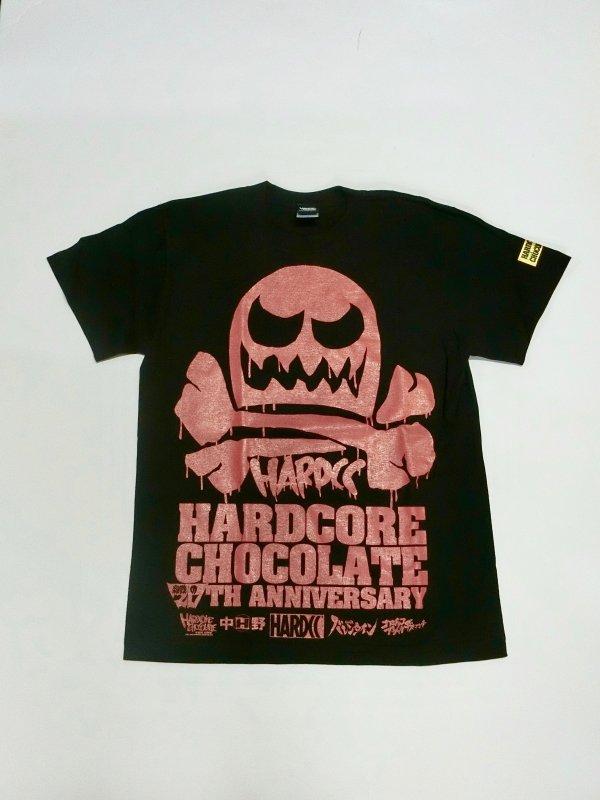 ハードコアチョコレート 殺戮の20周年 Tシャツ(ANNIVERSARYレッド)[廃盤]