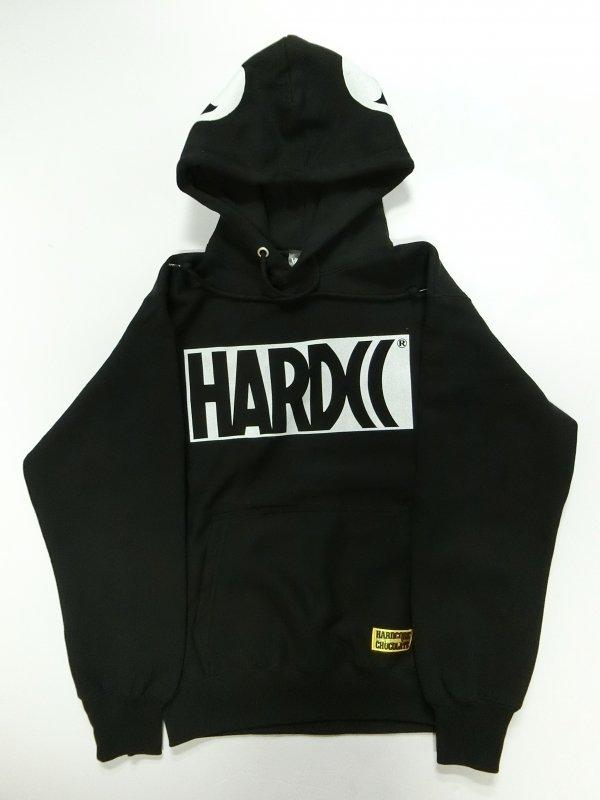 HARDCCベーシックロゴ プルオーバーパーカ19 EDITION