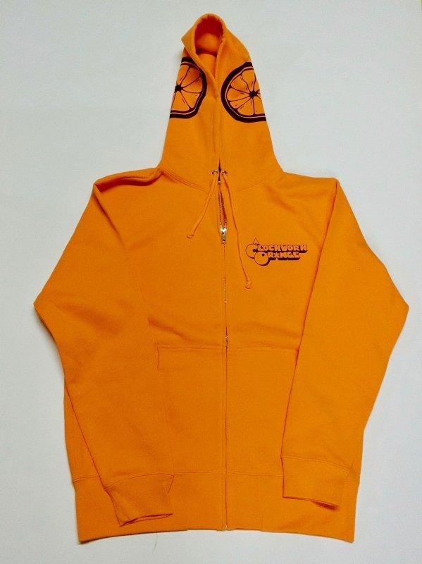 時計じかけのオレンジZIPパーカ(A Clockwork Orangeオレンジ)